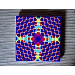 """Mandala """"apă, armonie"""" pe suport ceramic"""