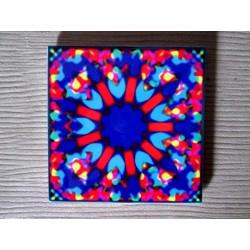 """Mandala """"iubire, armonie, conştientizare"""" pe suport ceramic"""