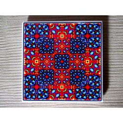 """Mandala """"vindecare emoţională"""" pe suport ceramic"""