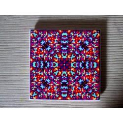 "Mandala ""armonie, evoluţie"" pe suport ceramic"