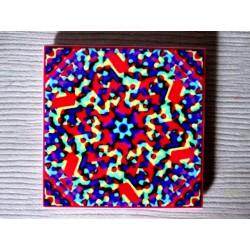 "Mandala ""ADN, apă, armonie"" pe suport ceramic"