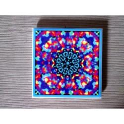 "Mandala ""iubire, armonie, conştientizare, dependenţe"" pe suport ceramic"