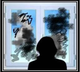 A privi lumea printr-un geam murdar…